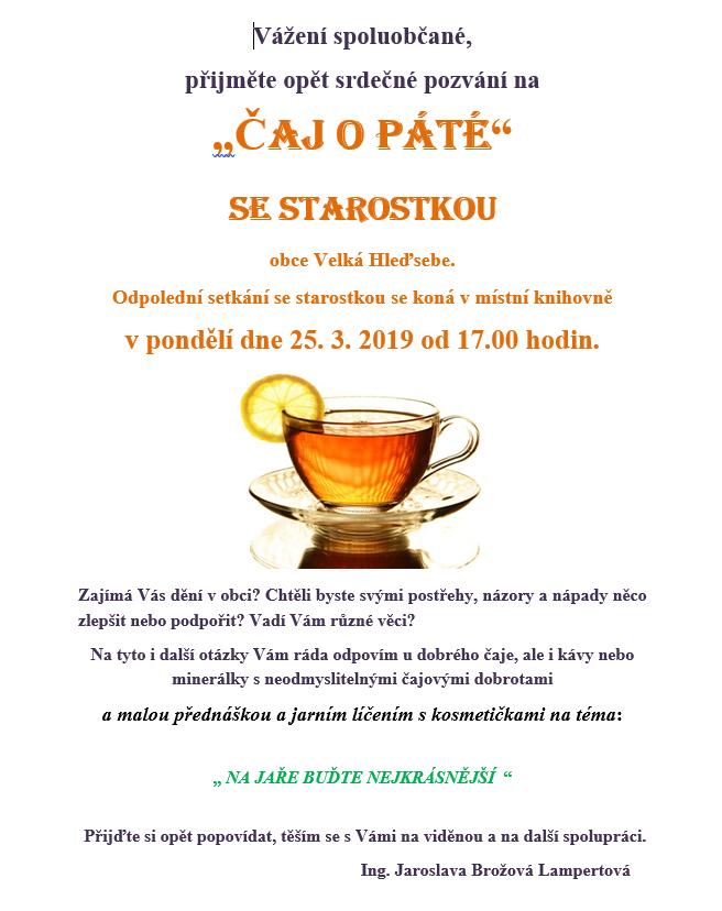 Čaj o páté 1